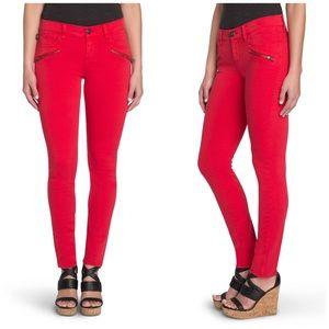 Rock & Republic Kashmiere Mid Rise Zipper Jean